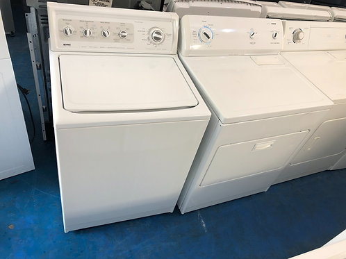Kenmore washer dryer set great working order with 90 days warranty