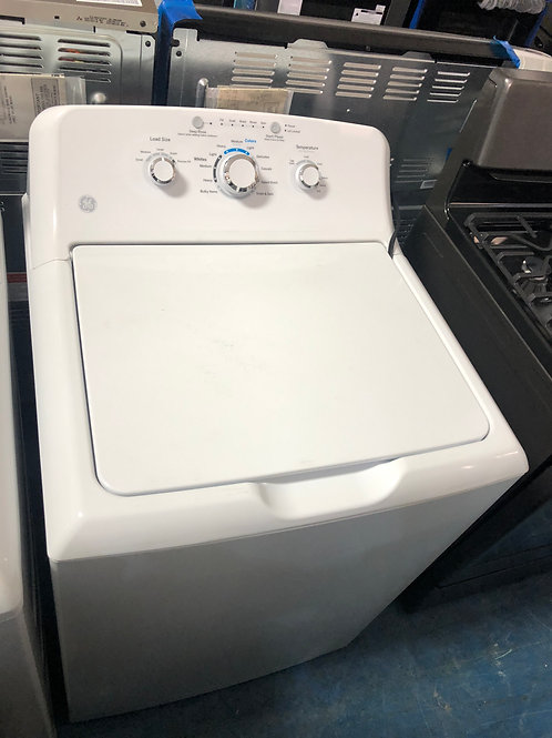 Ge brand new scratch and dent top load washer with 1 year warranty
