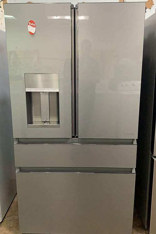 """Ge cafe 36"""" 4 door french door refrigerator working condition with warranty."""