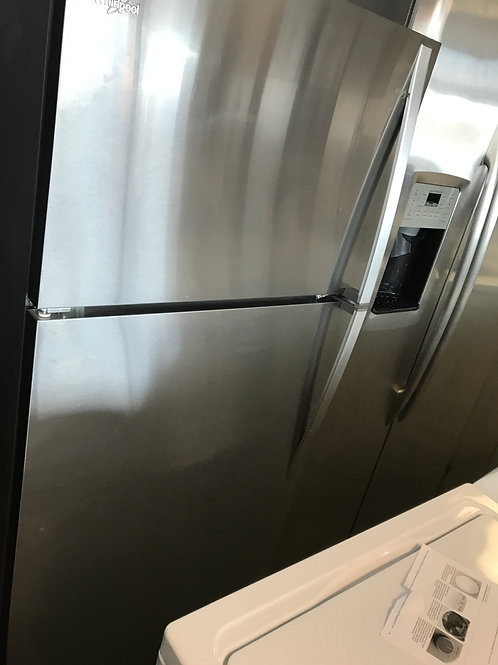 "30"" Whirlpool Top Freezer Bottom Refrigerator"