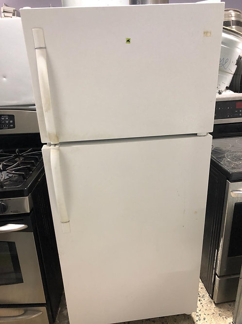 Kenmore brand refurbished top bottom fridge with warranty.