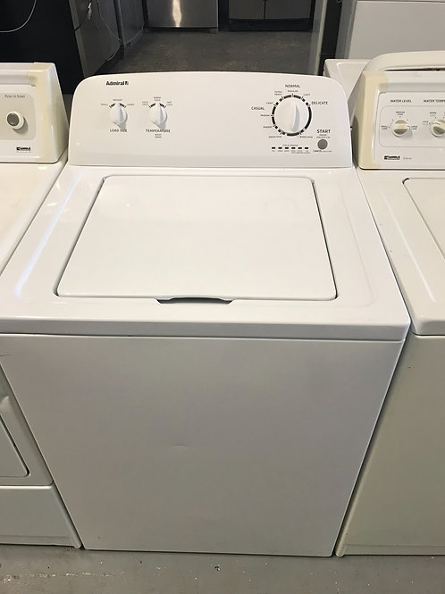 Admiral brand refurbished top load washer.