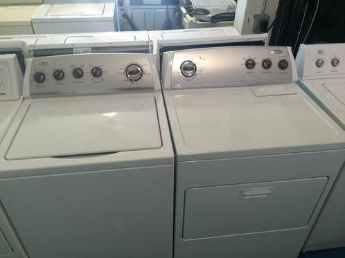 Whirlpool Washer Dryer Set Heavy Duty 90 Days Warranty