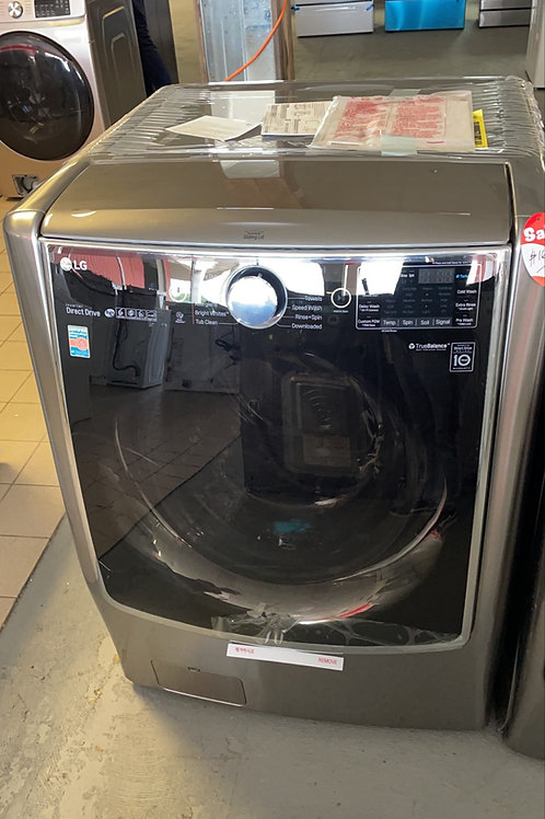 LG signature new open box graphite frontload washer dryer set with warranty.