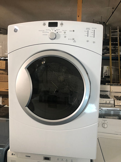 "27""ge stackable electric dryer great working order with 90 days warranty"