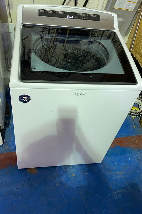 Whirlpool top load washer great works with 90 days warranty