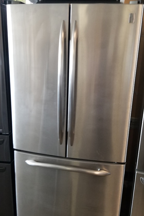 33''Ge Profile Stainless Steel FrenchDoor