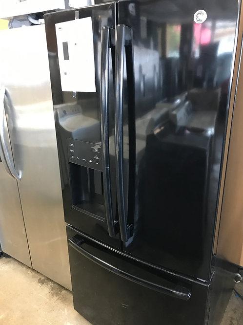 """33"""" GE Black Frenchdoor Refrigerator WaterIce Door"""