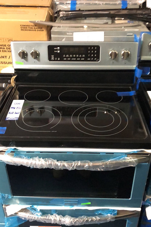 Brand new Frigidaire gallery stainless double oven electric stove with 1 year wa