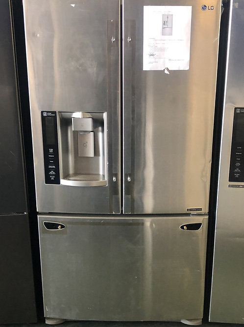 Brand ne me LG stainless steel French door with one year warranty
