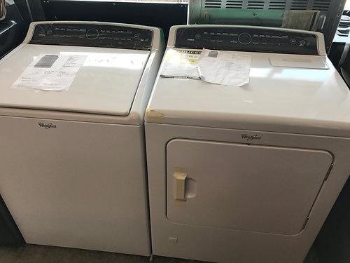 brand new whirlpool cabrio gas washer dryer set