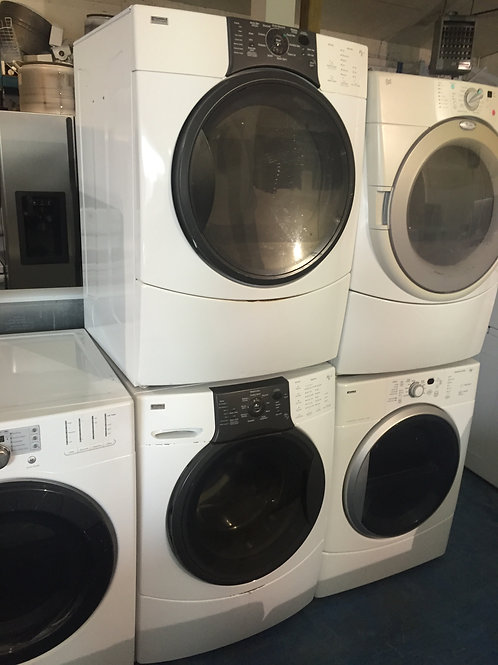 KENMORE ELITE STACKABLE WASHER DREYR GREAT WORKING WITH 90 DAYS WARRANTY
