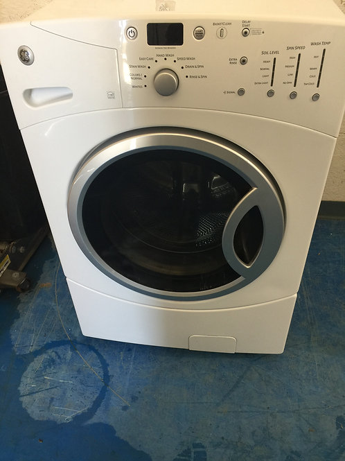 Ge stackable washer dryer with 90 days warranty