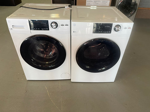 ge front load washer and dryr set with warrnty