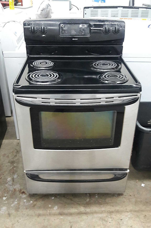 """30""""width Kenmore electric stove coil top"""