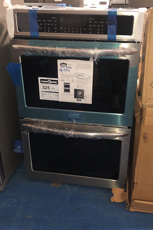 "Brand new Frigidaire 30""stainless double wall oven with 1 year warranty"