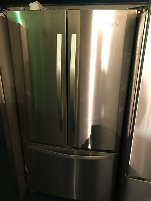 WHIRLPOOL STAINLESS FRENCHDOOR BRAND NEW FRIDGE WITH  1YEAR WARRANTY