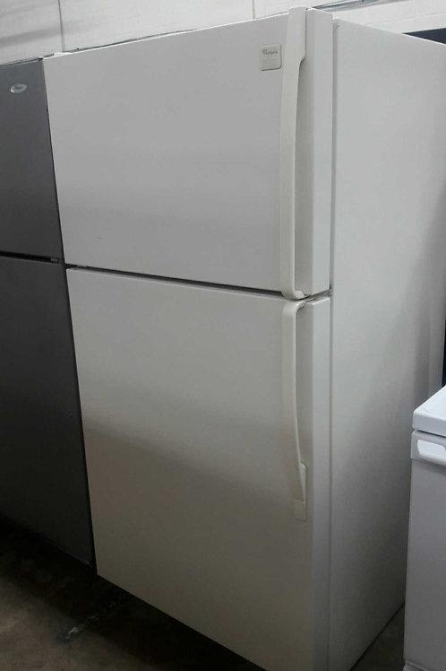 "33""whirlpool top and bottom fridge"