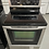 Thumbnail: Whirlpool Gold Series stainless steel electric stove 45 days warranty.