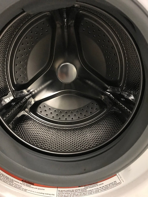 """Whirlpool brand refurbished 24"""" stackable washer works great with warranty."""