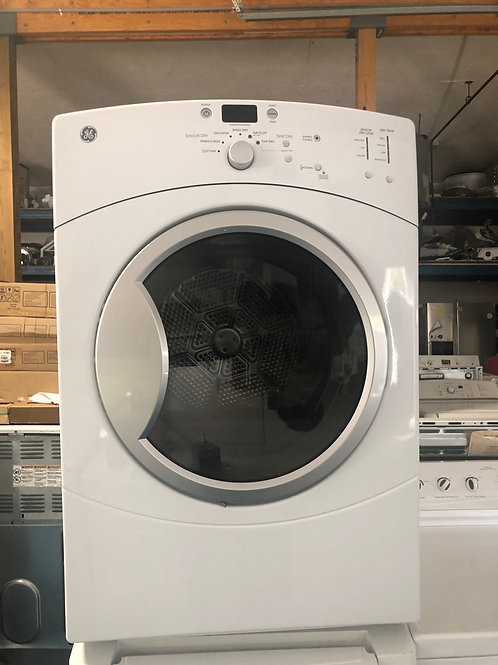 "27""ge stackable electric dryer great works with 90 days warranty"