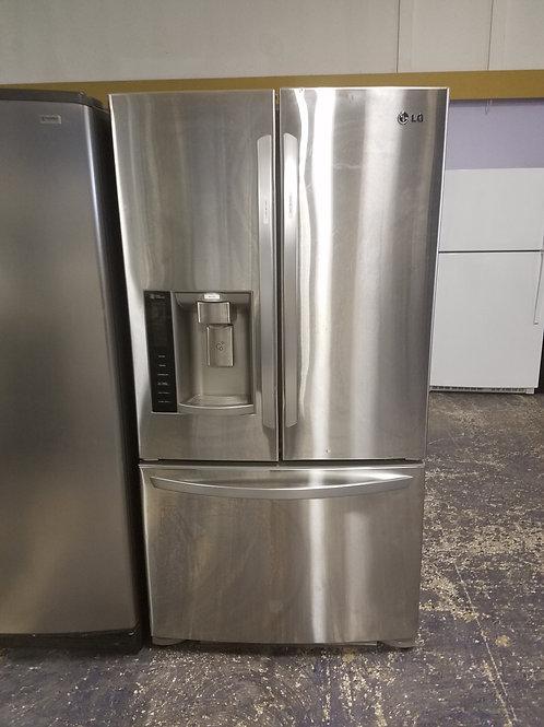 36x69 Stainless Steel LG Frenchdoor Fridge