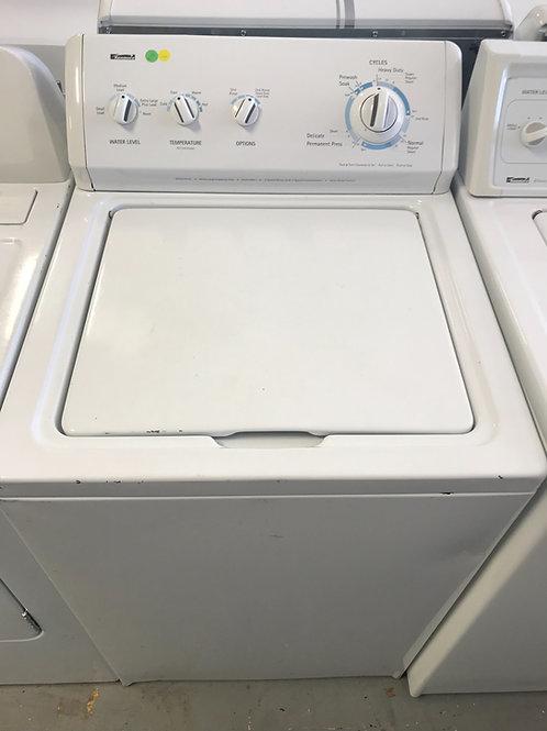 Kenmore brand refurbished top load washer.