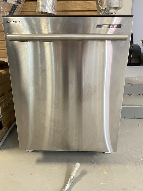 "Samsung refurbished 24"" stainless steel dishwasher."