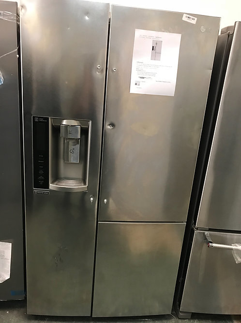 Lg brand new Side by side refrigerator stainless steel.