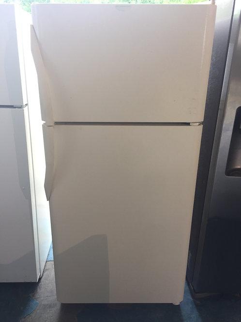 "30""top and bottom fridge  90 days warranty"