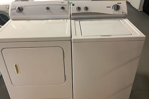 kenmore top load washer dryr set with warrnty