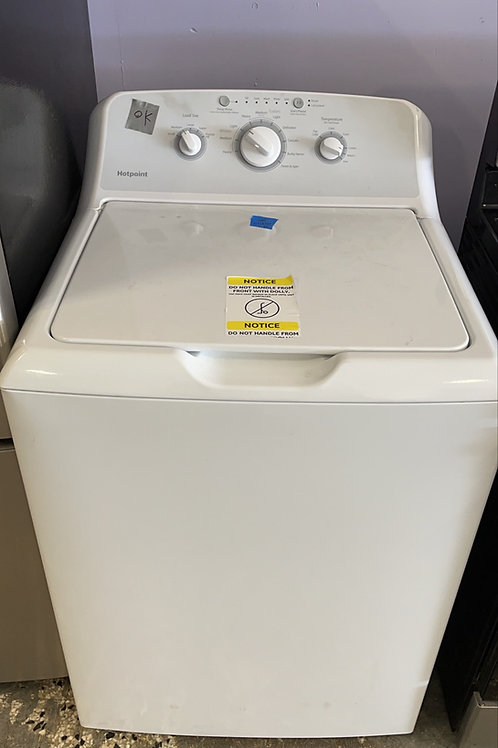 Hotpoint return model top load washer HE.