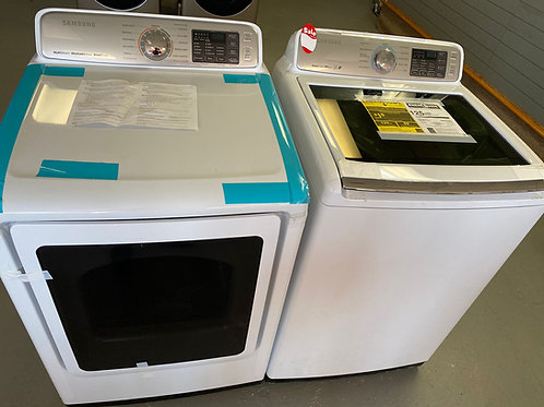 NEW SAMSUNG TOP LOAD WASHER AND DRYER ELECTRIC SET