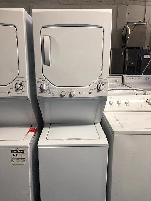 "24""ge stackunit washer dryer with 90 days warranty"