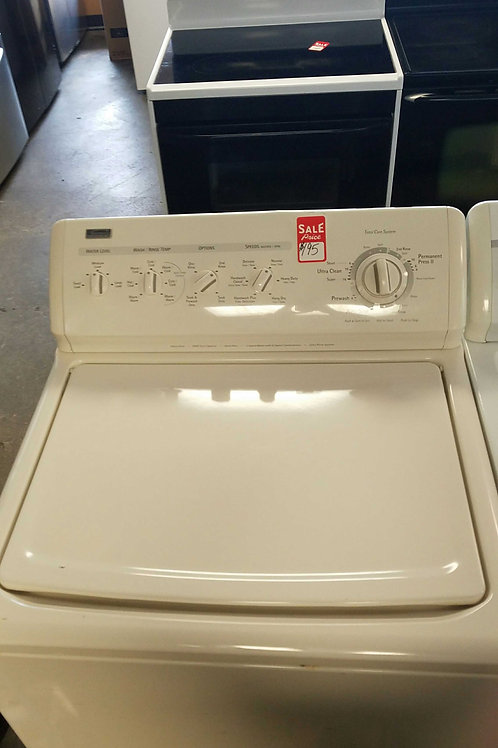KENMORE TOP LOAD WASHER.