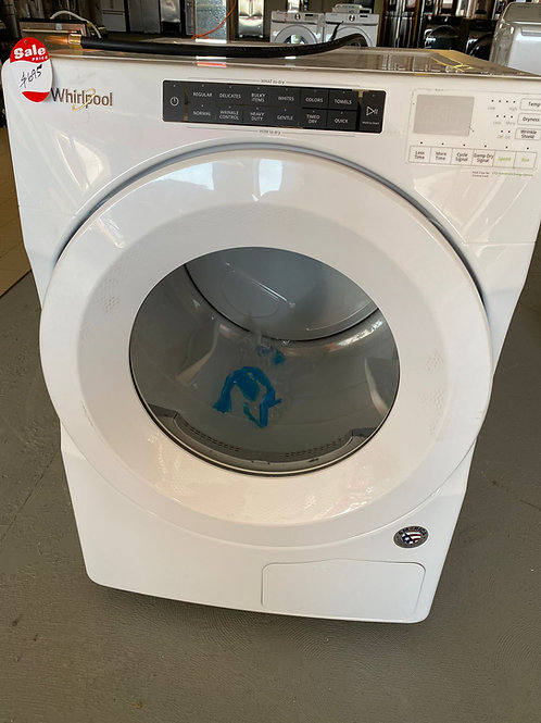 NEW WHIRLPOOL DRYER ELECTRIC WITH WARRANTY