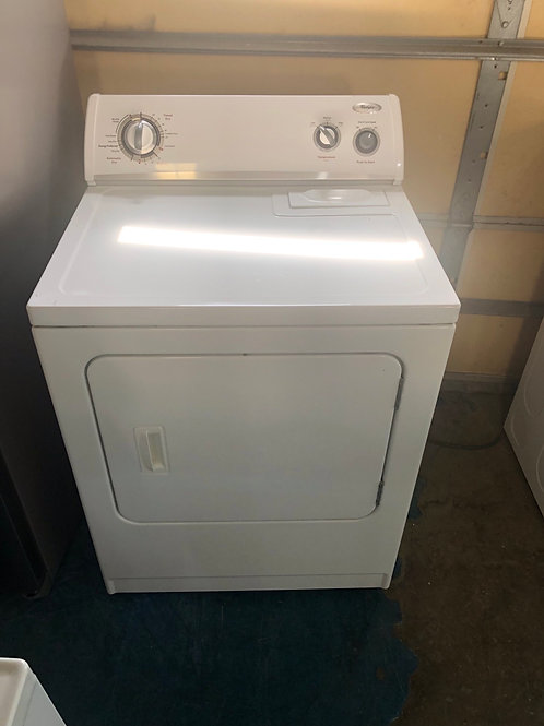 Whirlpool electric dryer great works with 90 days warranty