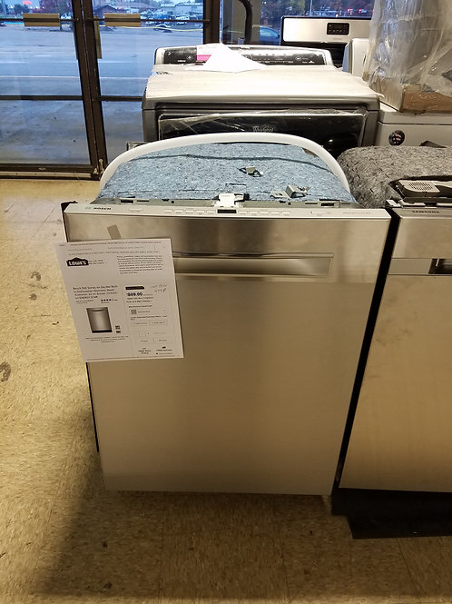 New Bosch Stainless Steel Dishwasher