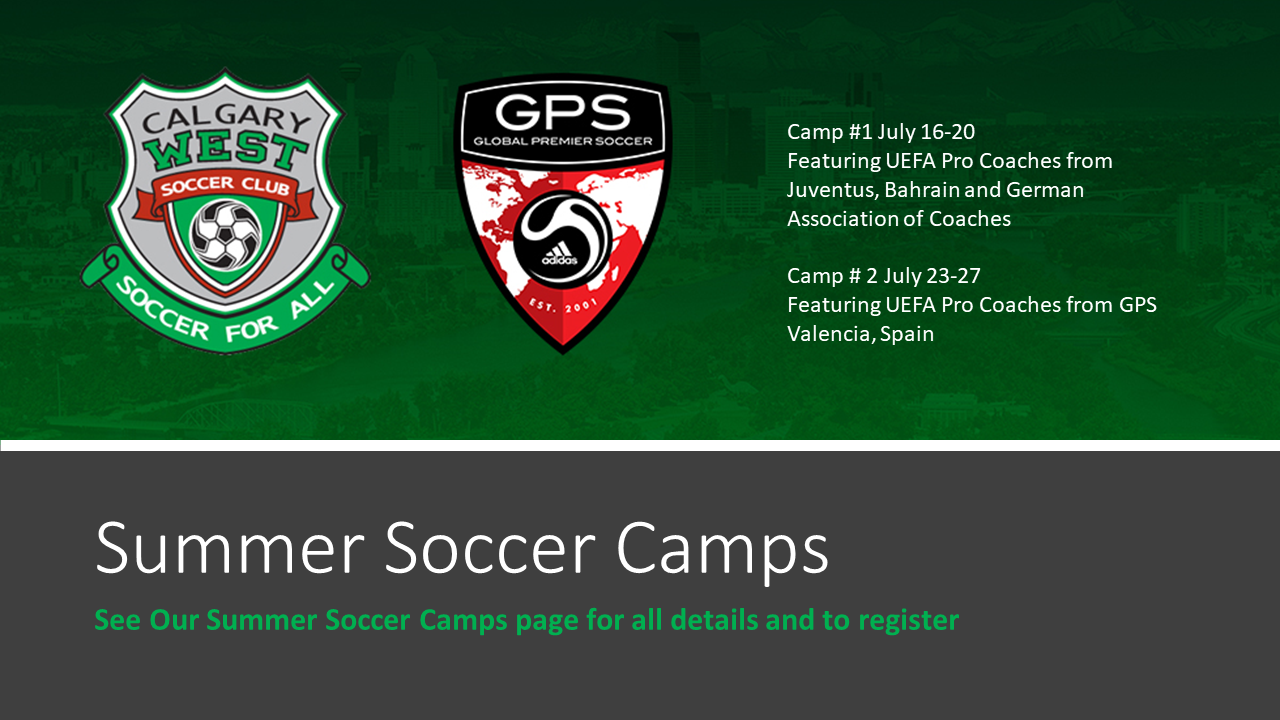 Summer Soccer Camps Calgary West Soccer Home