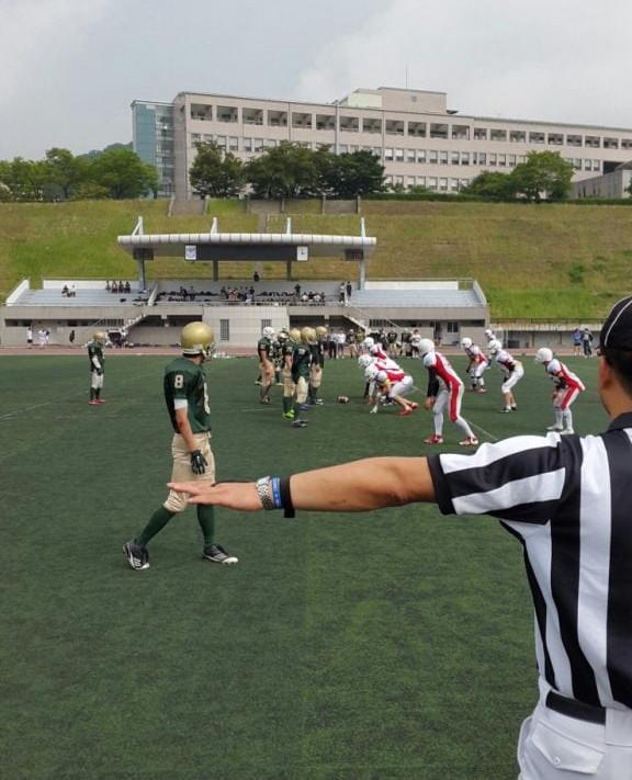 대한민국 최대 스포츠 문화 페스티벌, 키스포츠페스티벌에서 미식축구 경기 개최