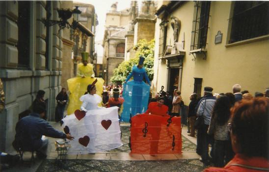 PASACALLES APV 2001