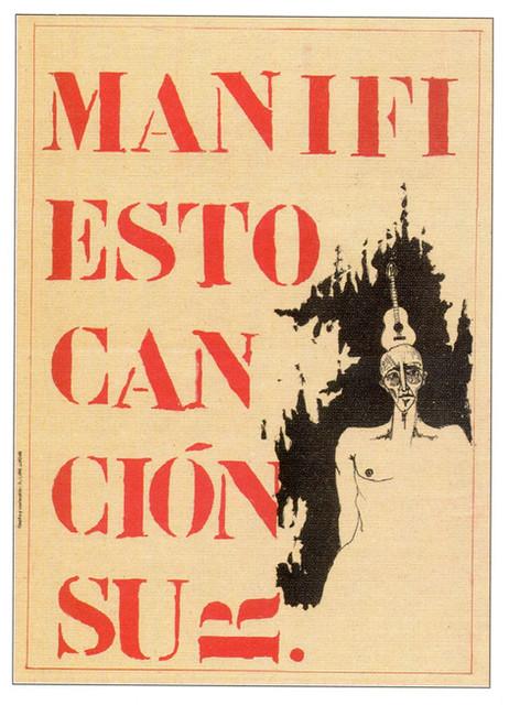 Poster Manifiesto Canción del Sur