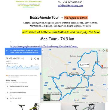 BassoMondo Tour Via Poggio al Vento - Co