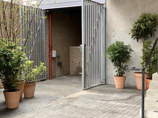 External courtyard planting with Studio Ro Co for Heyne Tillett Steel.