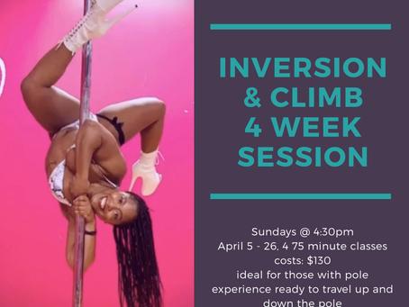 Inversion & Climb Session