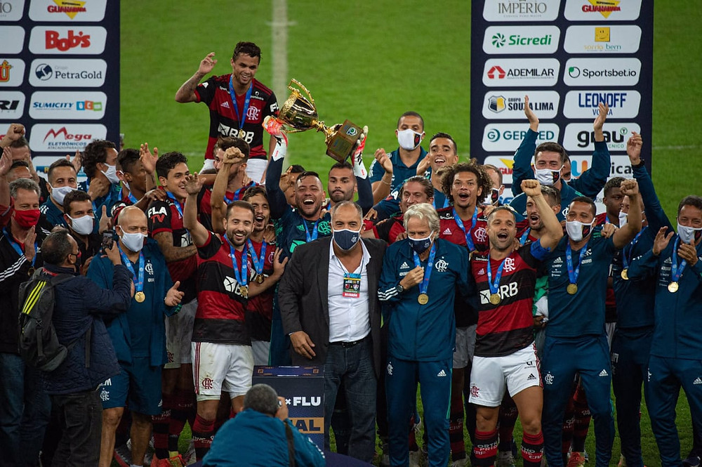 Flamengo conquista seu 36° título do Campeonato Carioca Foto: Alexandre Vidal