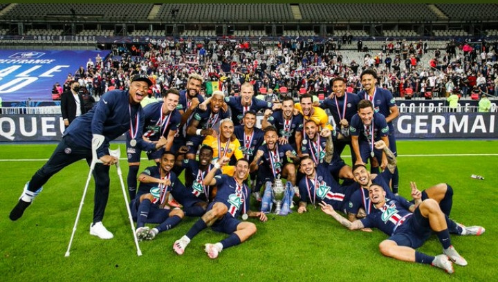 O PSG conquistou seu 13° título da Copa da França Foto: Reprodução Twitter/PSG