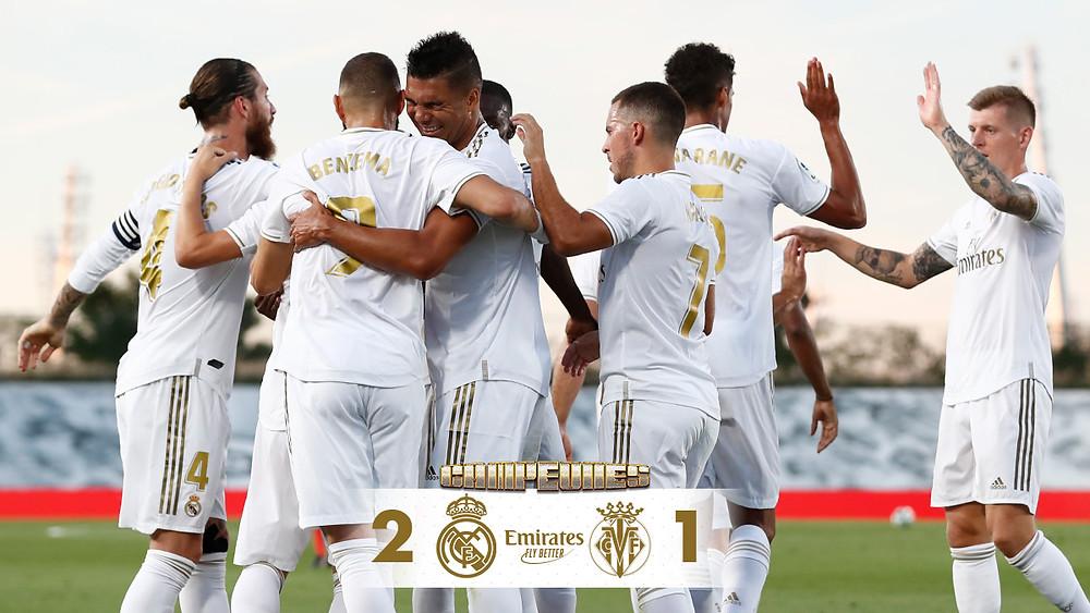 Real Madrid vence o Villarreal e conquista seu 36° título do Campeonato Espanhol Foto: Reprodução Twitter/ Real Madrid