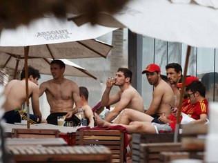 Seleção da Espanha se envolveu em polêmica aqui no Brasil Foto: Getty Images