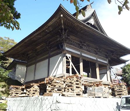 神社の嵩上げ1